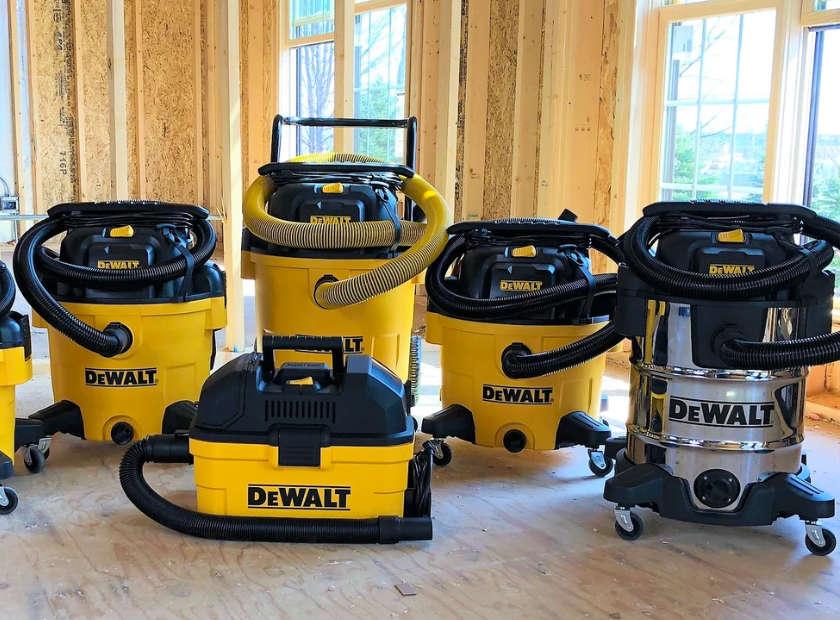 New DEWALT Vacuums for Spring